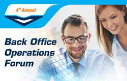 Back Office Operations Forum 24-25 Nov 2016, Vienna, Austria