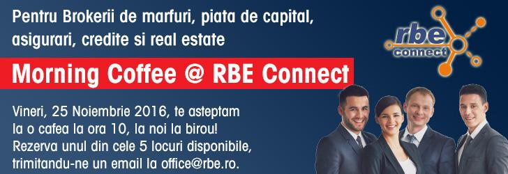 morning coffee brokeri actiuni valori forex marfuri asigurari credite real estate rbe connect