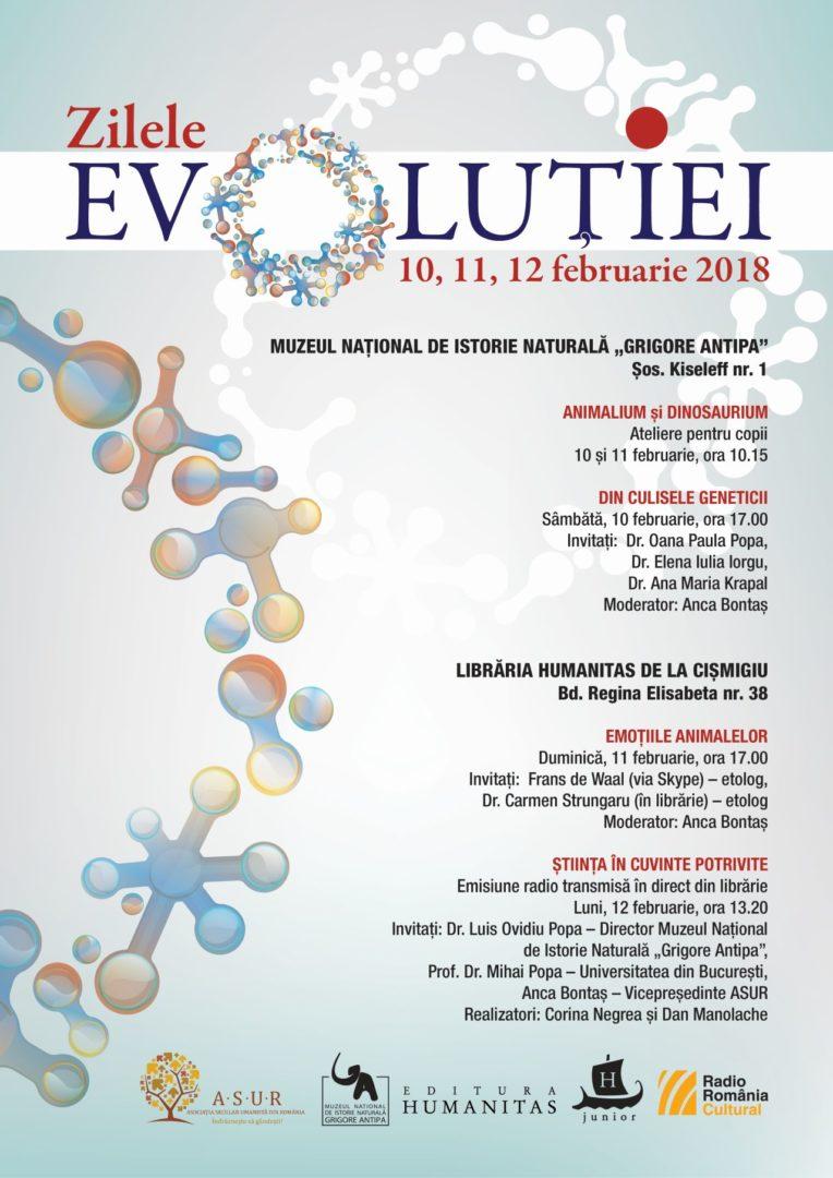 zilele evolutiei antipa
