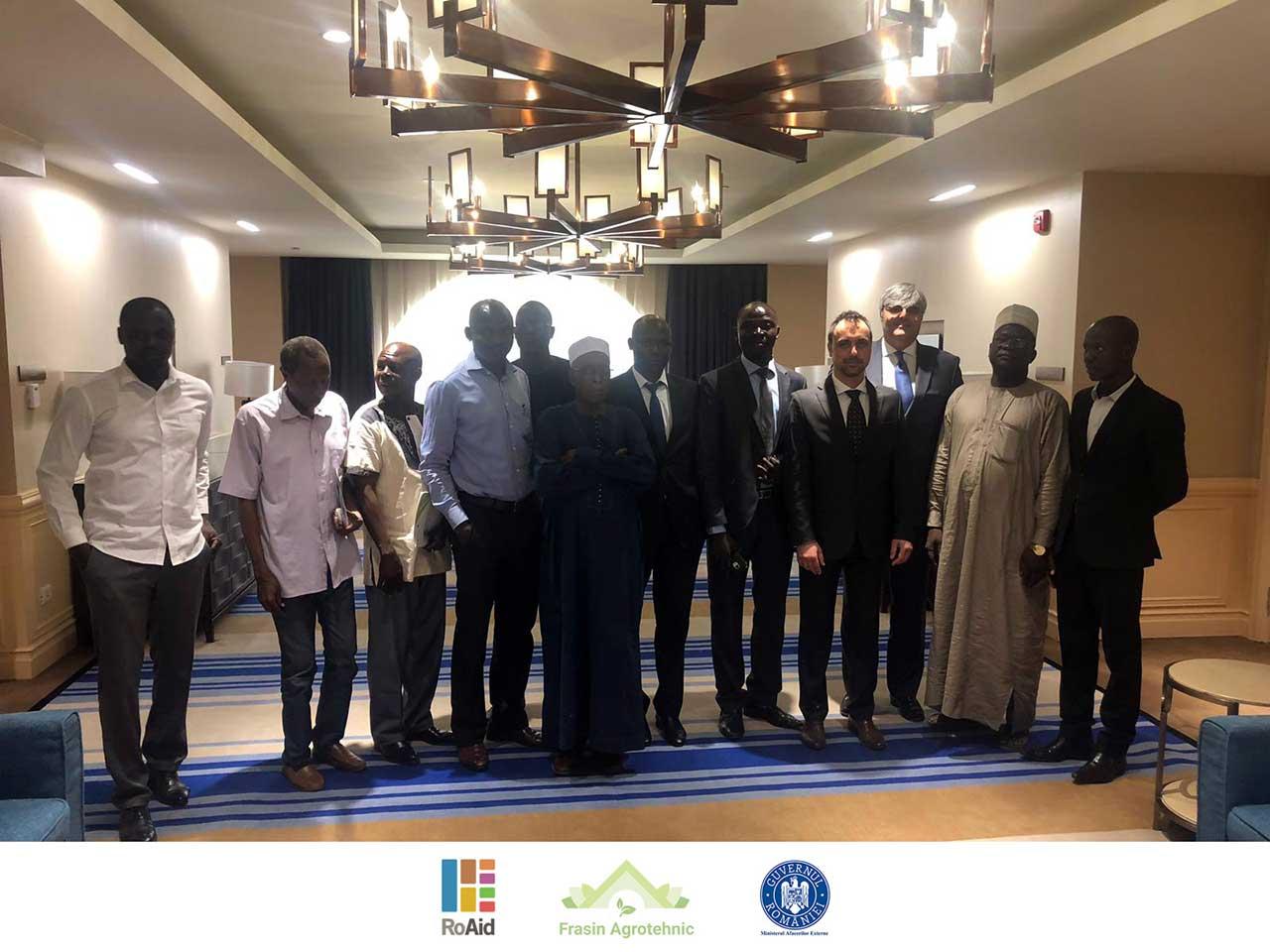 asocierea producătorilor de manioc, susan, soia și nuci de caju în Ciad