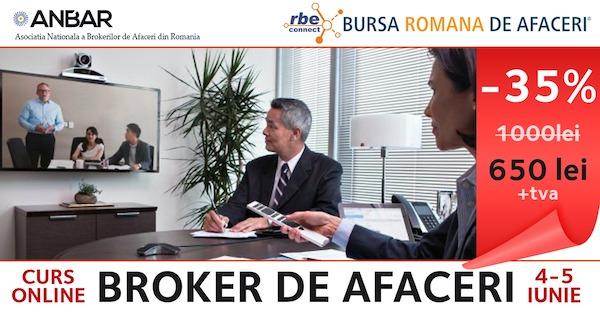 Curs Broker de Afaceri